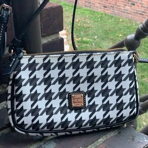 Houndstooth Dooney and Bourke Mini Purse